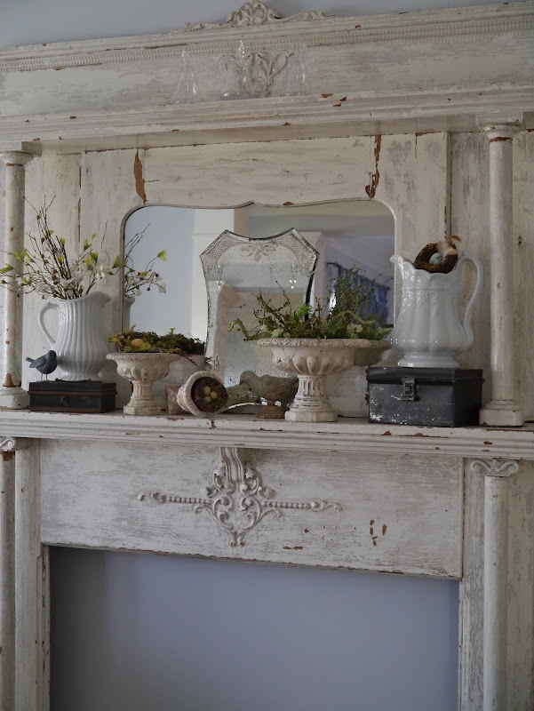 ber ideen zu shabby chic kamin auf pinterest. Black Bedroom Furniture Sets. Home Design Ideas