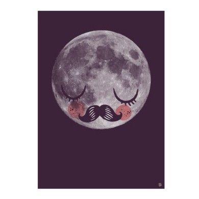 Moon print * Martin Krusche