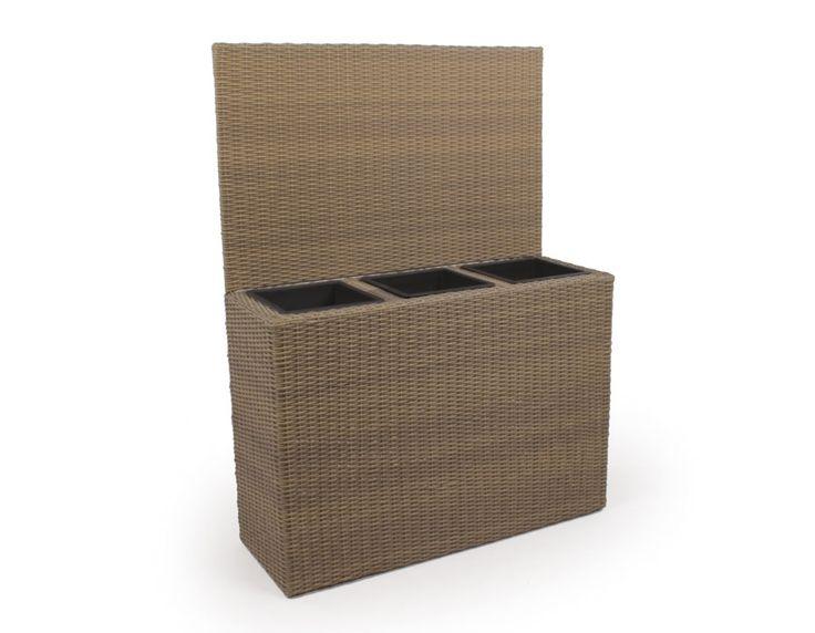 Plantekrukker - Plantekasse m/læskærm - Dusty