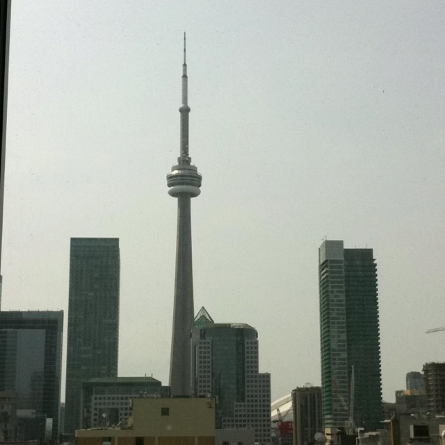 Toronto, view from the 5th floor OCAD University