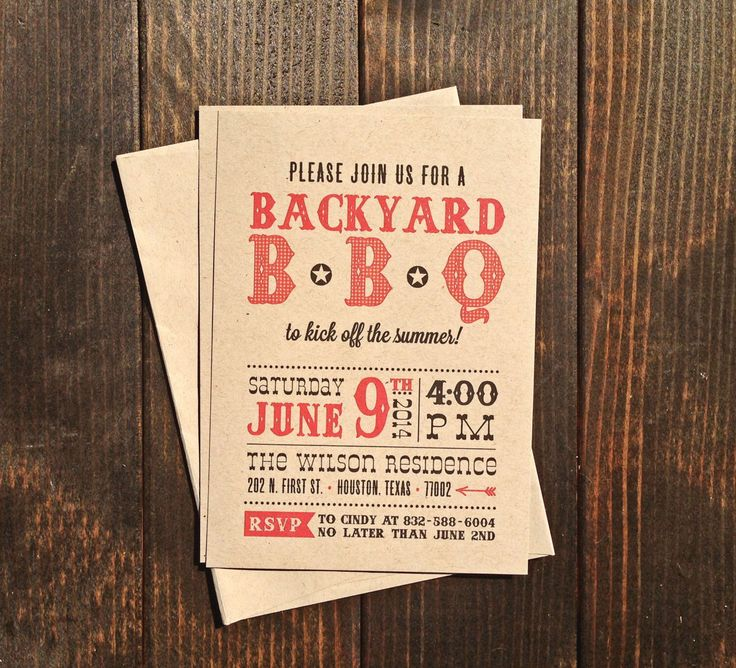 baby shower bbq invitation templates%0A BBQ Party Invitations  Birthday  Graduation  Baby Shower  Backyard Pool   Country
