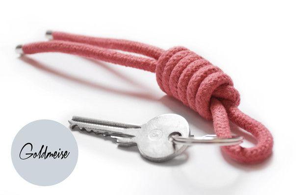 Weiteres - Schlüsselanhänger 'Henk' - ein Designerstück von Goldmeise bei DaWanda