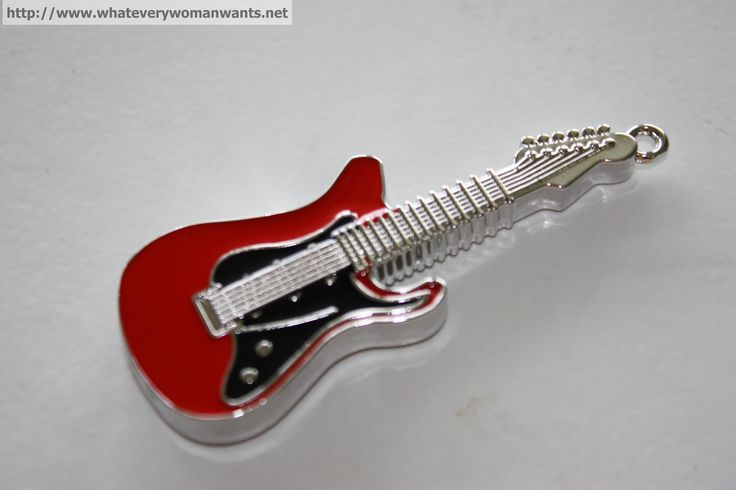 Metal Electric Guitar Memory Stick 8GB. Shock resistance, damp proof, lighting resistance, anti-magnetic. Compatible with PC, notebook $15.95 #Rockstar #Guitarhero
