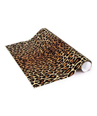This Leopard Locker Wallpaper is perfect by LockerLookz, $14 !!  #zulilyfinds