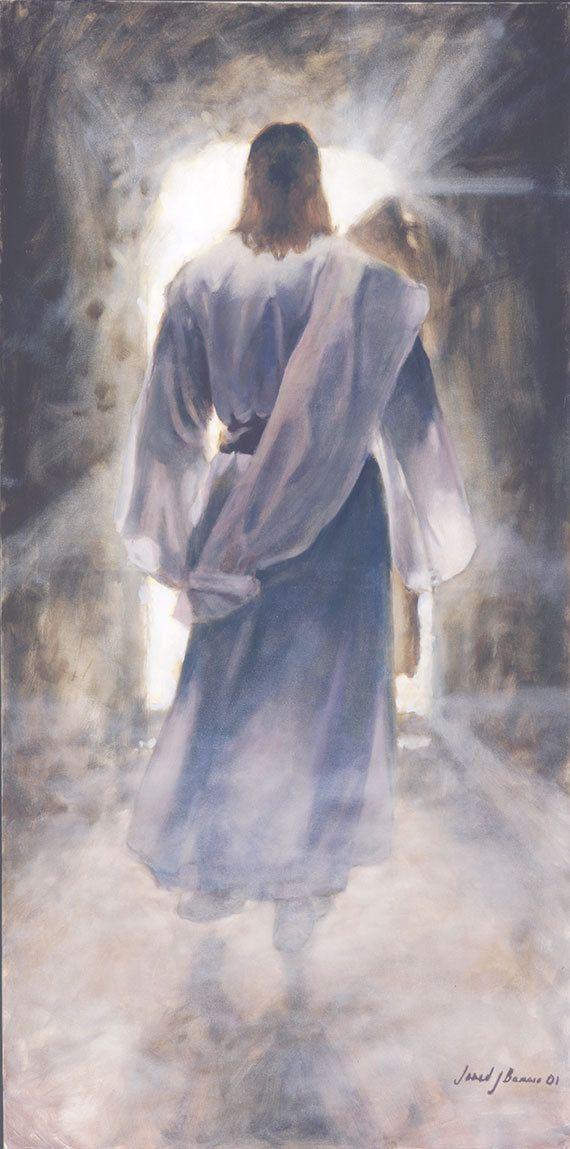 Jesucristo La primera impresión del arte sobre por JaredBarnesArt