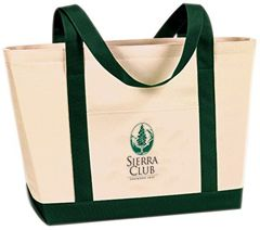 Organic Cotton Canvas Boat Bag – Sierra Club Online Store