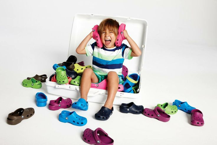 Colourfull and Real Comfort!  #crocs #kids