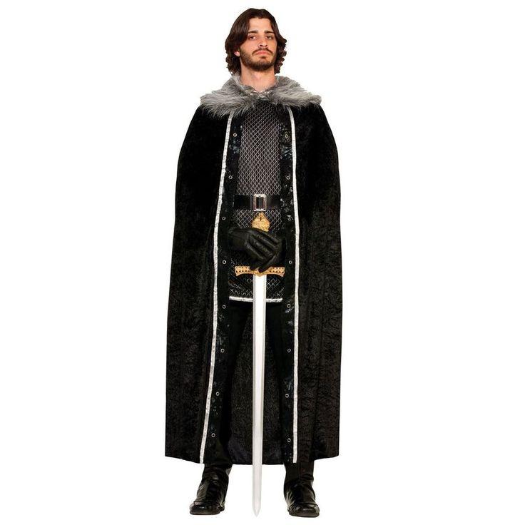 The Nights Watch Fancy Dress Cloak from Fancy Dress VIP - dress as Samwell Tarly or Jon Snow