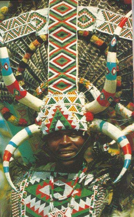 Zulu man, South Africa.