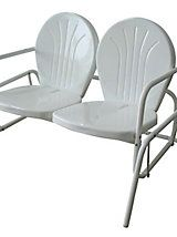 Buffalo Tools Double Seat Glider Chair | Haband