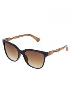 Anna Field - Okulary przeciwsłoneczne - black/brown