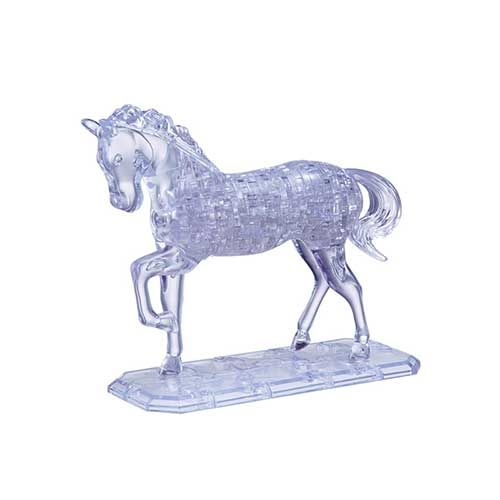 Crystal Puzzle Horse UVC 3D