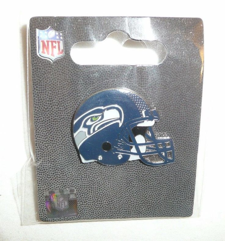 Seattle Seahawks Helmet Pin Pinback Lapel NEW NFL Football Helmet Sea Hawks FZQB #SeattleSeahawks