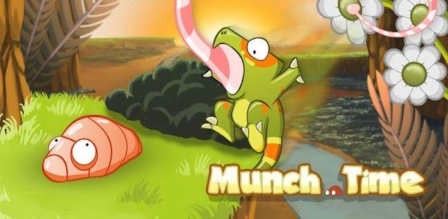 Munch Time, un juego protagonizado por un simpático camaleón con mucha hambre http://www.xatakandroid.com/p/84658