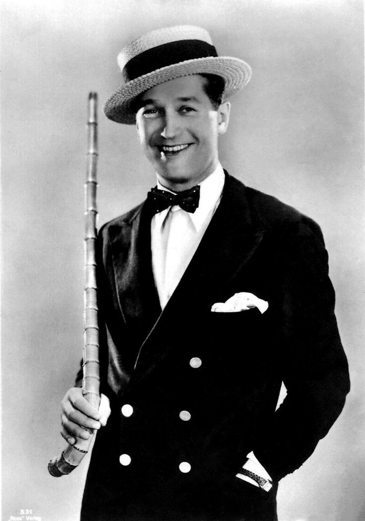 Maurice Chevalier (September 12, 1888 – January 1, 1972), French actor, Cabaret singer and entertainer.