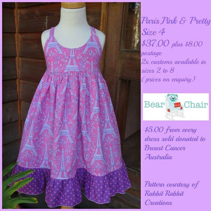 Handmade by Bear In A Chair Paris, Pink & Pretty Dress