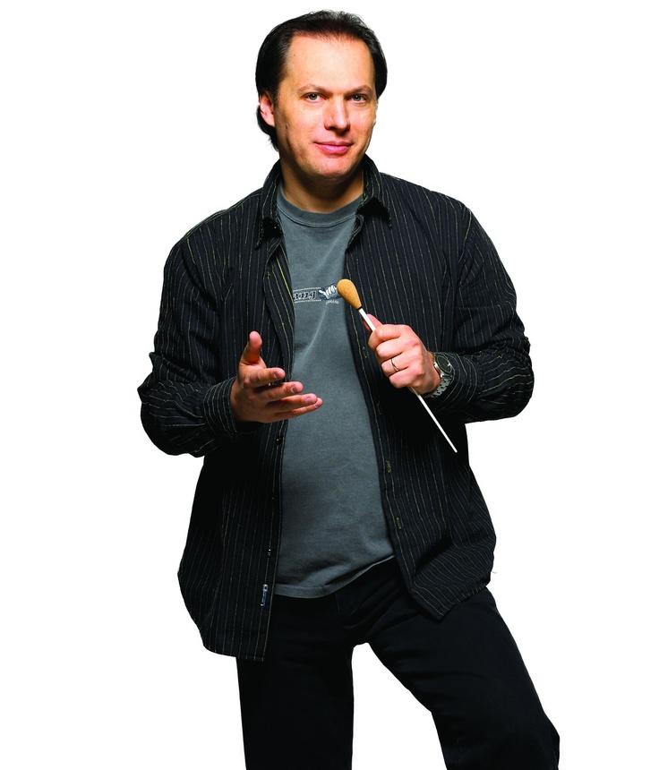 Maestro Roberto Minczuk, Grammy and Emmy Award-winning conductor of the Calgary Philharmonic Orchestra