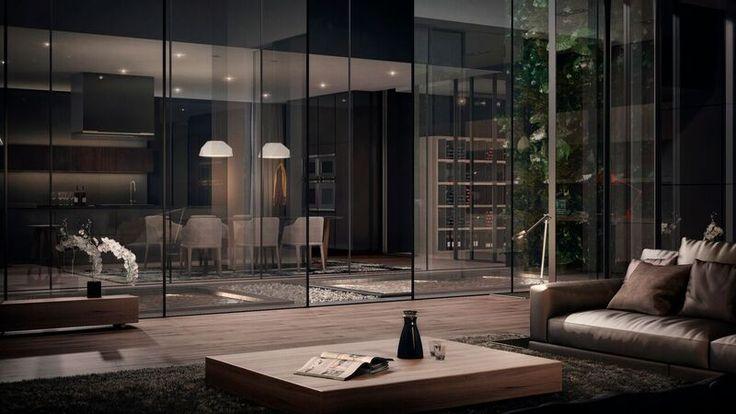Le Bijou design hotel interior living room