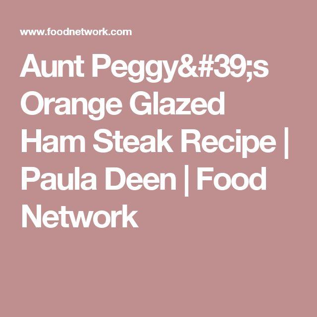 What is Paula Deen's recipe for bourbon glaze?