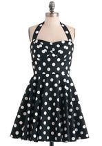 Traveling Cupcake Truck Dress in Black | Mod Retro Vintage Dresses | ModCloth.com