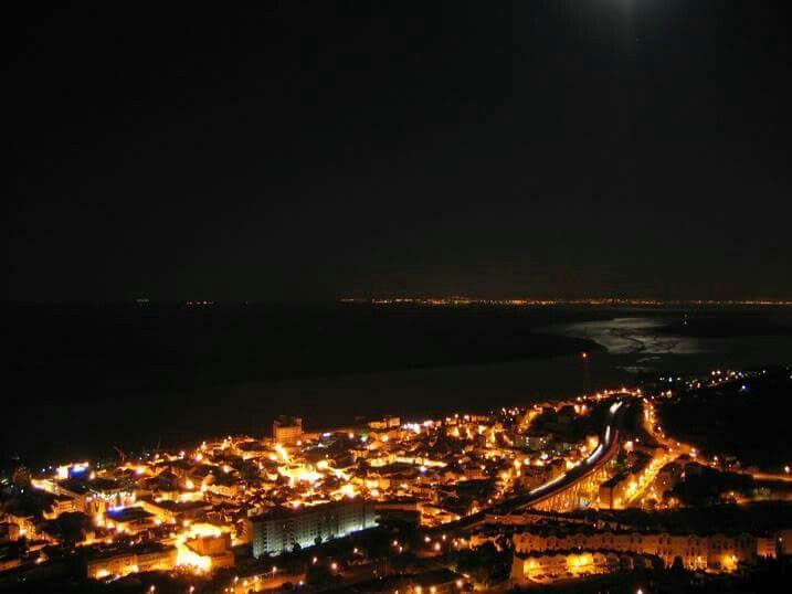 Noite Vila Franca de Xira Portugal