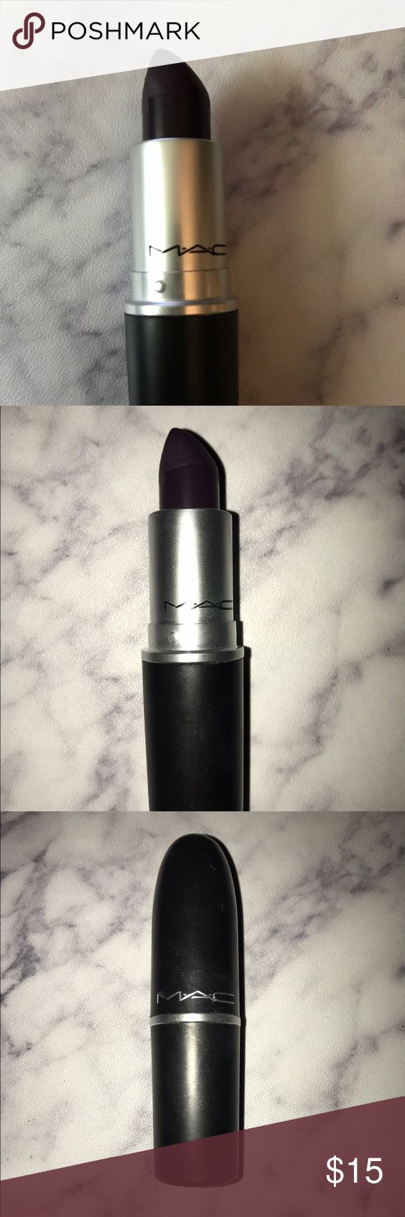 MAC Cyber Lipstick Shade: Cyber.      Used only once MAC Cosmetics Makeup Lipstick