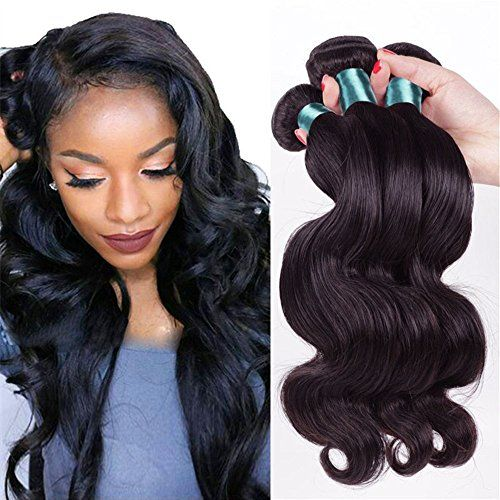 Etino Hot Sell Human Hair Direct 100 Brazilian Remy Human Hair Extensions Body Wave 3Pack Bundles 300g Total 100g each Grade AAAAA 8 10 12 ** Check out the image by visiting the link.