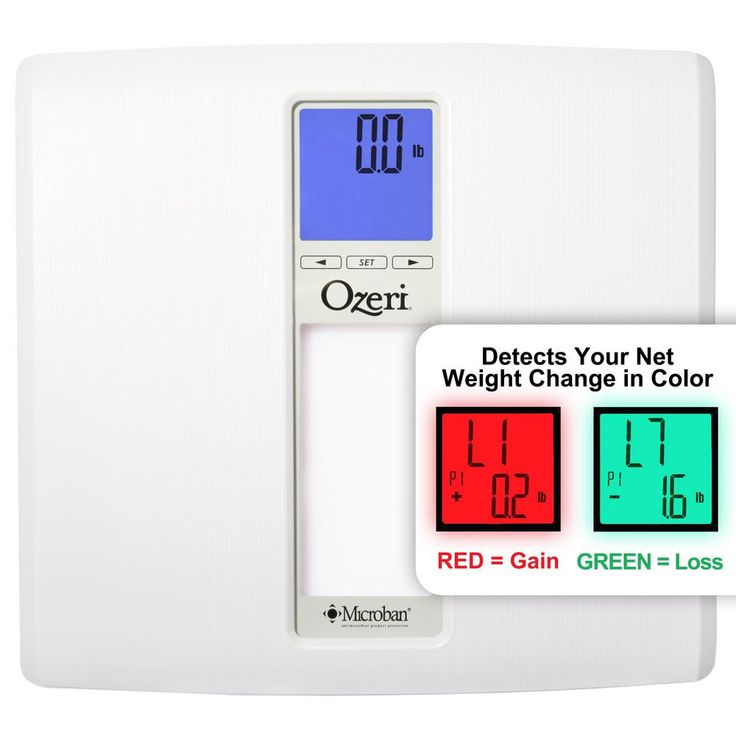 WeightMaster II 440 lbs. Digital Bath Scale with BMI and Weight Change Detection, White