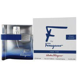 Salvatore Ferragamo F is een aromatisch, houtig parfum met topnoten van citroen en gember, hartnoten van kardemom en rode peper en basisnoten van vetiver, cederhout en muskus
