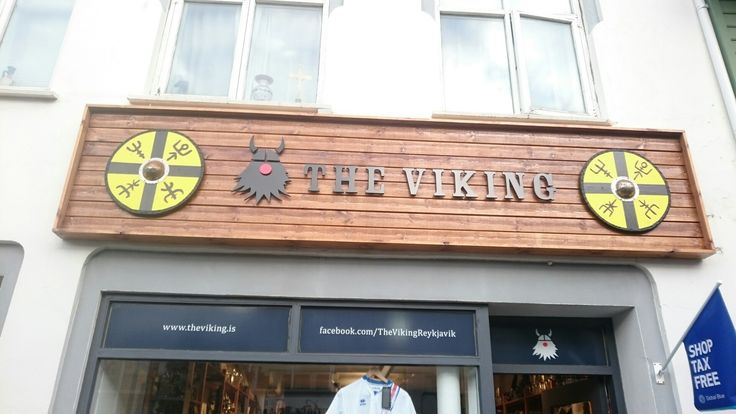 Seems i got to the right Island,viking souvenir shops                   everywhere in Reykjavik