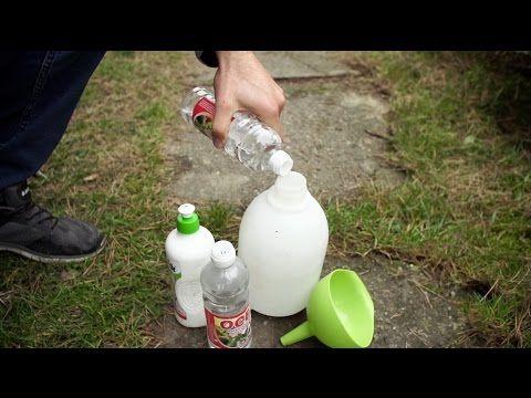 Jak zrobić preparat na chwasty domowym sposobem - YouTube