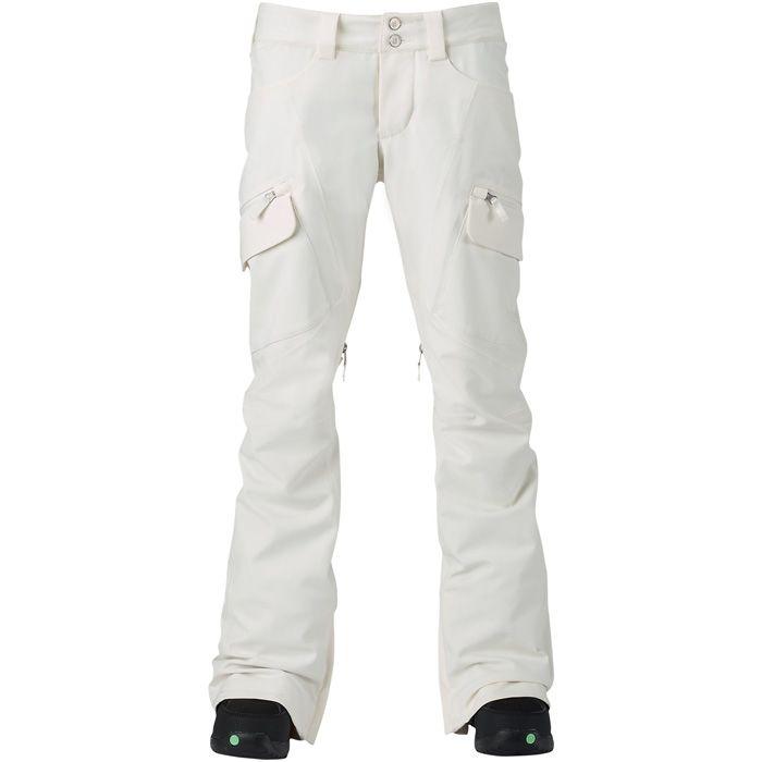Burton Gloria Snowboard Pants - Women's: Stout White