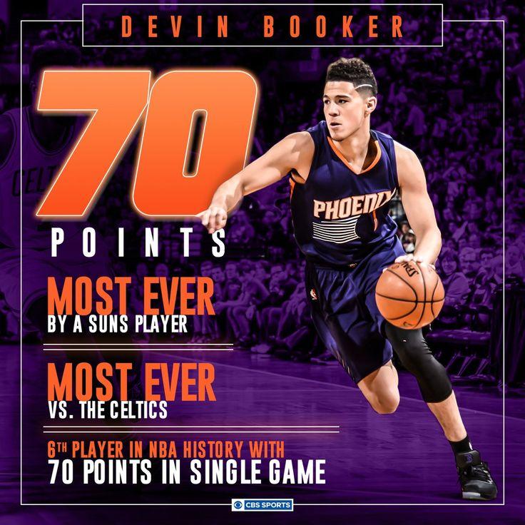 Devin Booker 70 points!