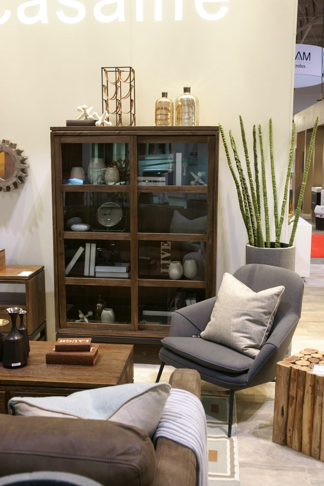 Every living room should be comfortable, warm, and inviting. Just one of several room vignettes on display at the 2014 @Home & Garden Events #NationalHomeShow