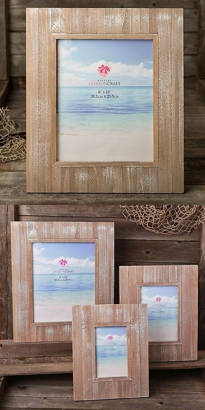 Baby Picture Frames 117392: Distressed Wood Wide Border 8 X 10 Frame From Gifts By Partyfairybox Fc-12220 -> BUY IT NOW ONLY: $37.71 on eBay!