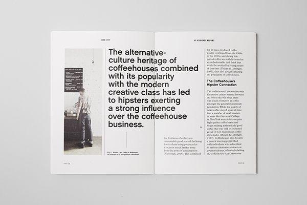Estd 1999: An Academic Report on Editorial Design Served