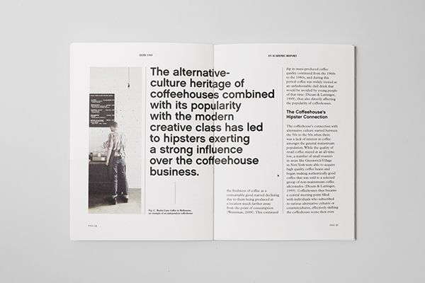 Estd 1999: An Academic Report on Editorial Design Served