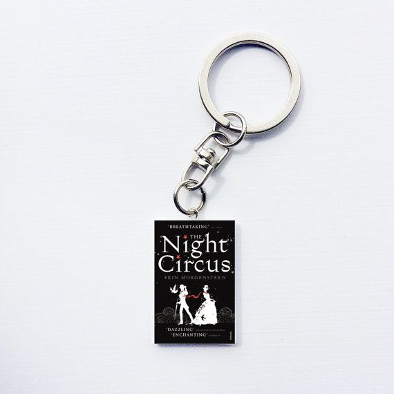 Night Circus keychain. #nightcircus #books #booklover #bookstagram #gifts #keychain #fiction