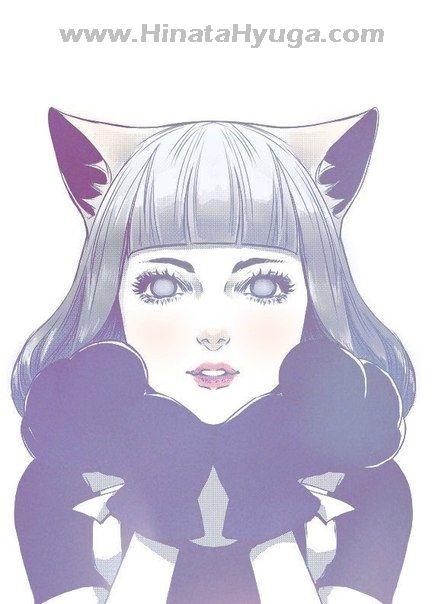 Hinata Hyuga Cat Cosplay