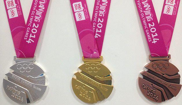 난징, 2014 하계 유스 올림픽 메달 공개 :: Bidding Archive