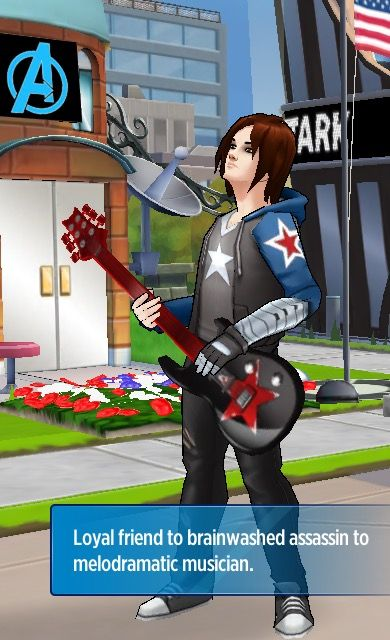 Avengers Academy Winter Soldier