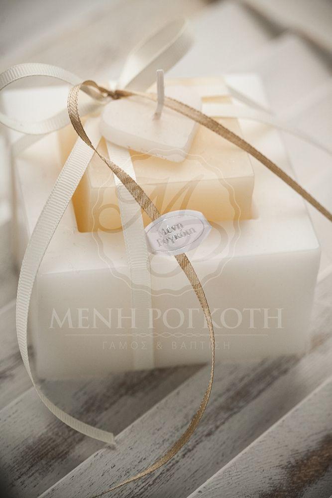 Μένη Ρογκότη - Μπομπονιέρα γάμου κερί