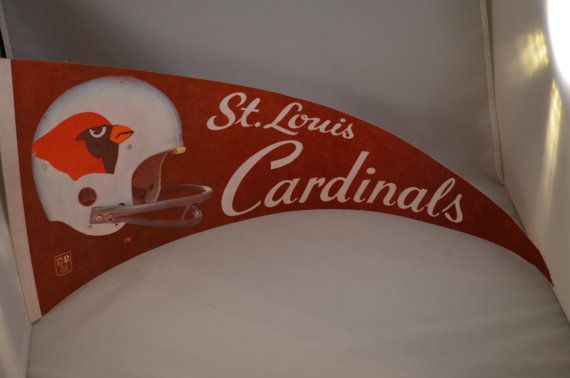 Vintage NFL St. Louis Cardinals Football by FloridaFindersSports
