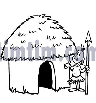 Drawings Of Huts Coloring Free Online Drawing Tool