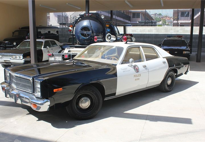 LAPD officers patrolled with this 1978 Plymouth Fury. Photo courtesy of the Los Angeles Police Museum.