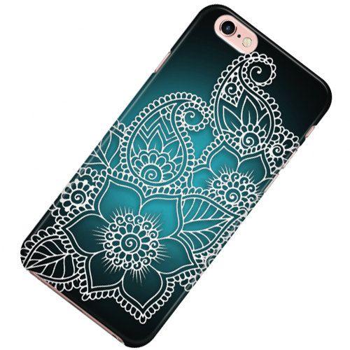 Henna Style Phone case,  iPhone phone case 6, 7, SE, 6 Plus, 7 Plus, 6S, 5, 5C, 5S, 4, Galaxy phone cases, Galaxy S6, S7, Note 5 by FlashTattoosLA on Etsy