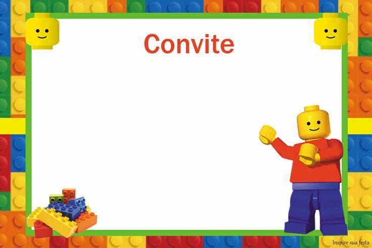 Lego – Kit festa infantil grátis para imprimir – Inspire sua Festa ®