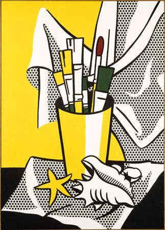 The Roy Lichtenstein Foundation- This painting is at the Nelson Atkins Museum in Kansas City.