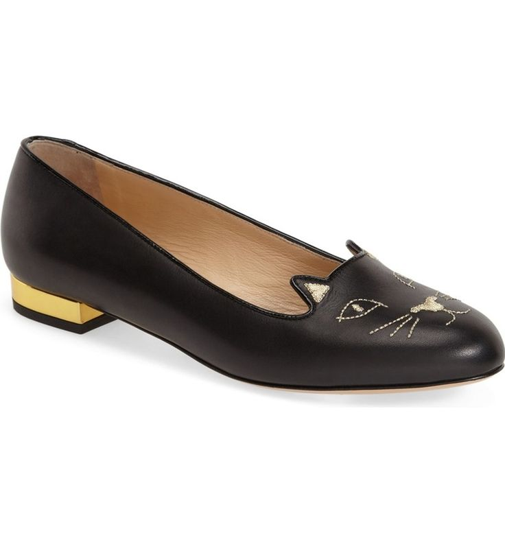 Main Image - Charlotte Olympia 'Kitty' Flat (Women)
