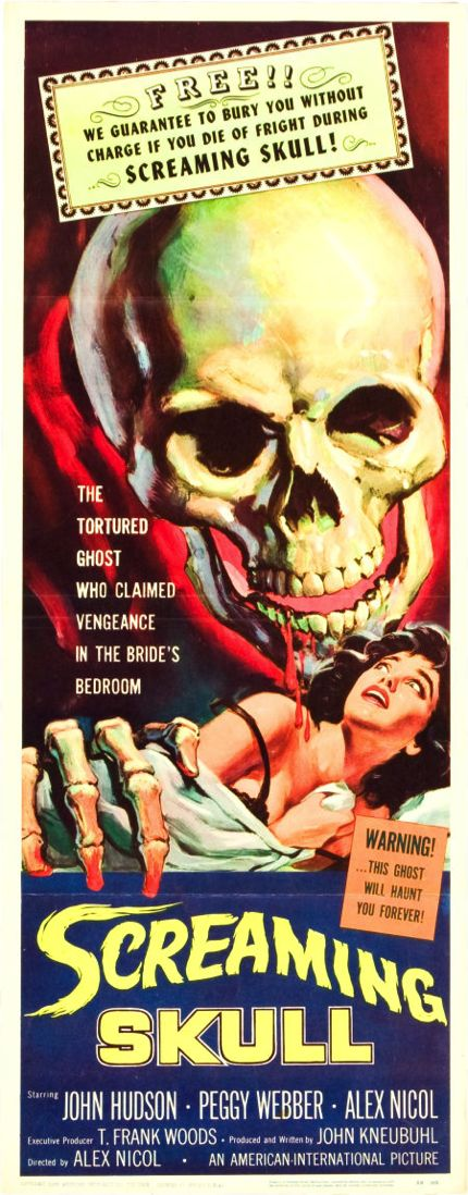 """THE SCREAMING SKULL"". (1958) alittle underrated horror from the sixties."